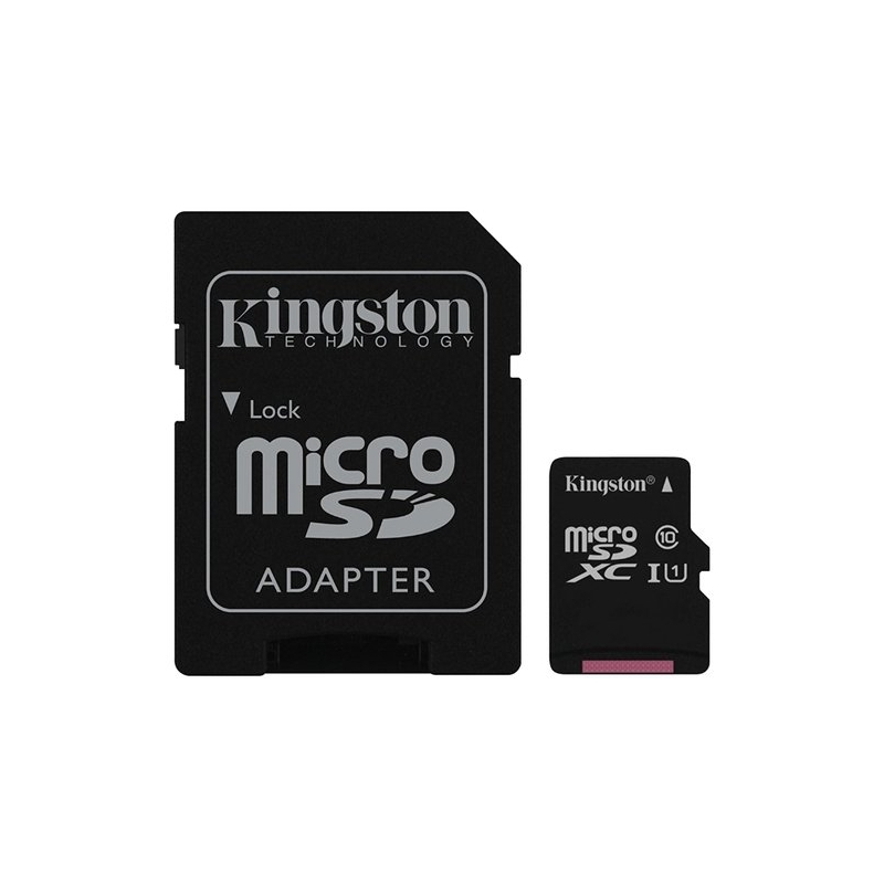 Kingston MicroSDHC 32Gb Kingston Class 10 UHS-1 (с адаптером) SDC10G2/32GB