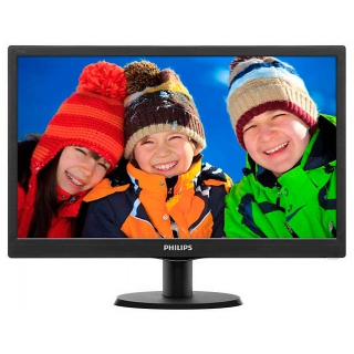 "Монитор Philips 18.5"" 193V5LSB2/10(62) Black"